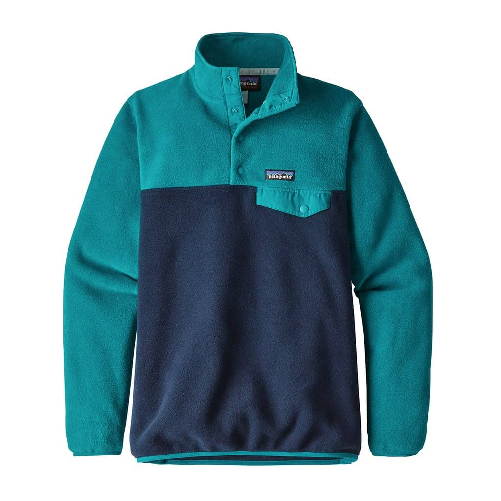 patagonia womens lightweight synchillas snap-t pull over
