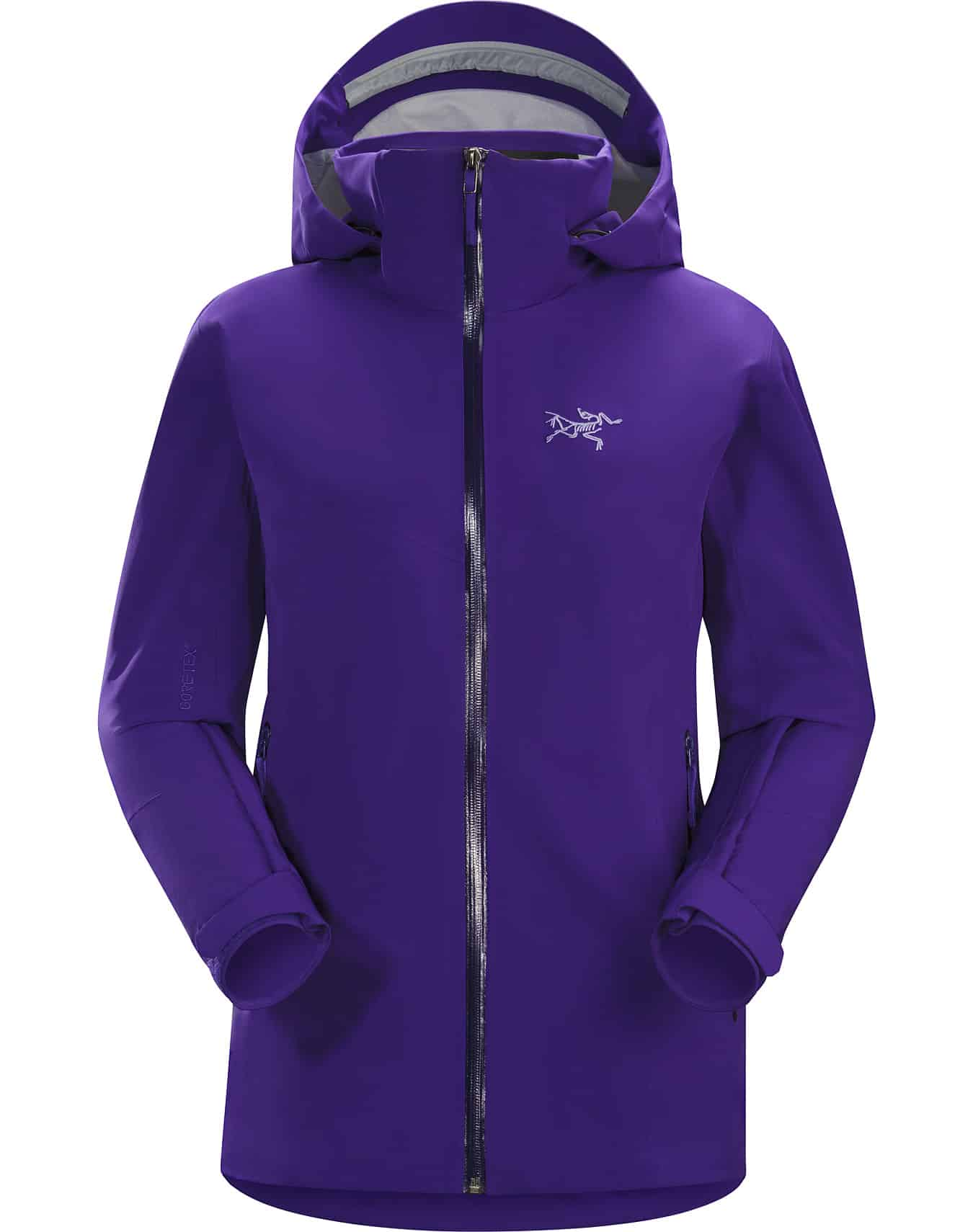 arcteryx ravenna jacket purple