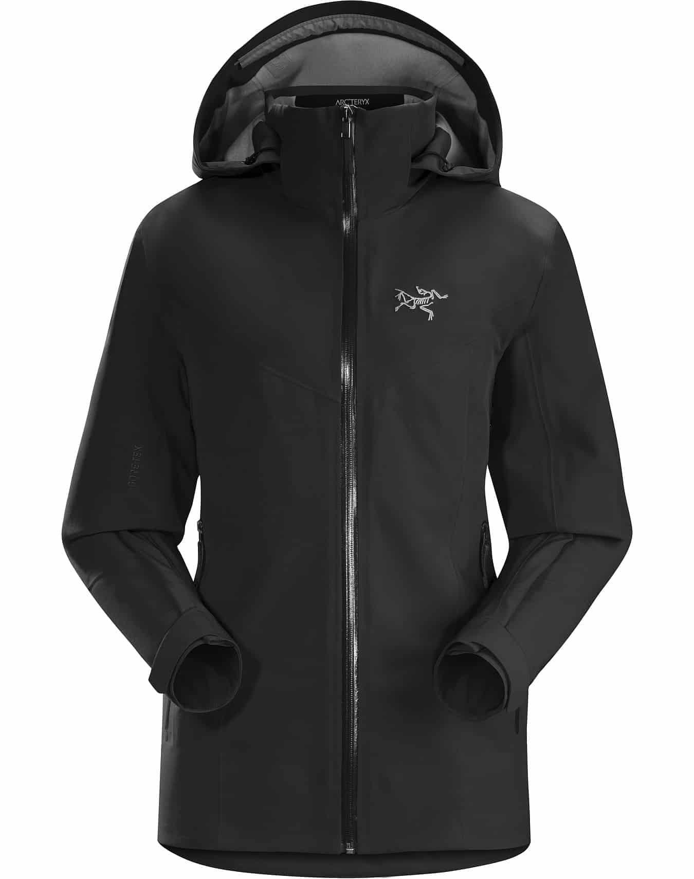 arcteryx ravenna jacket black