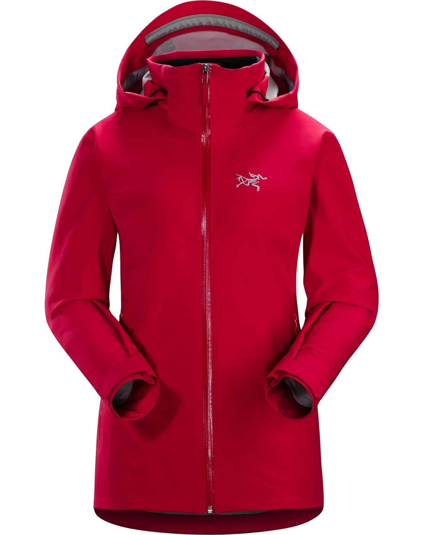 arcteryx ravenna jacket red