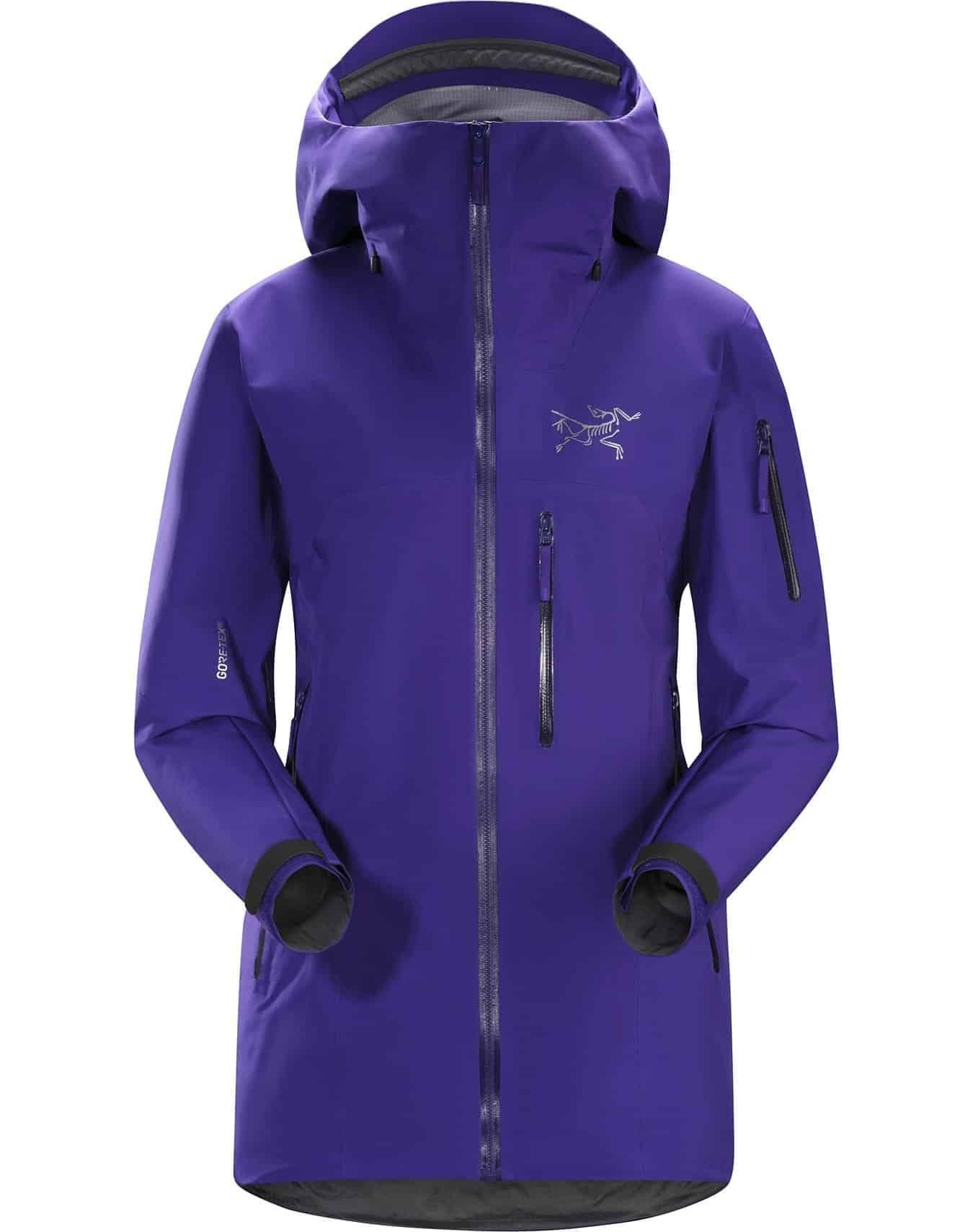 arcteryx shashka jacket purple