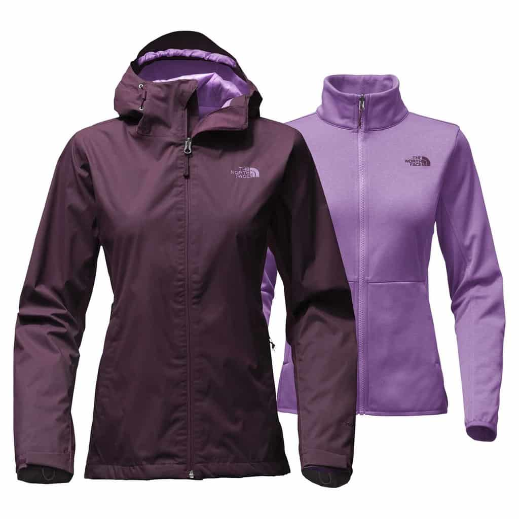 th enorth face womens arrowood triclimate jacket