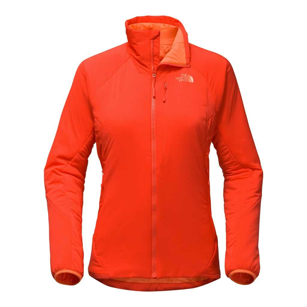 womens tnf ventrix jacket coral