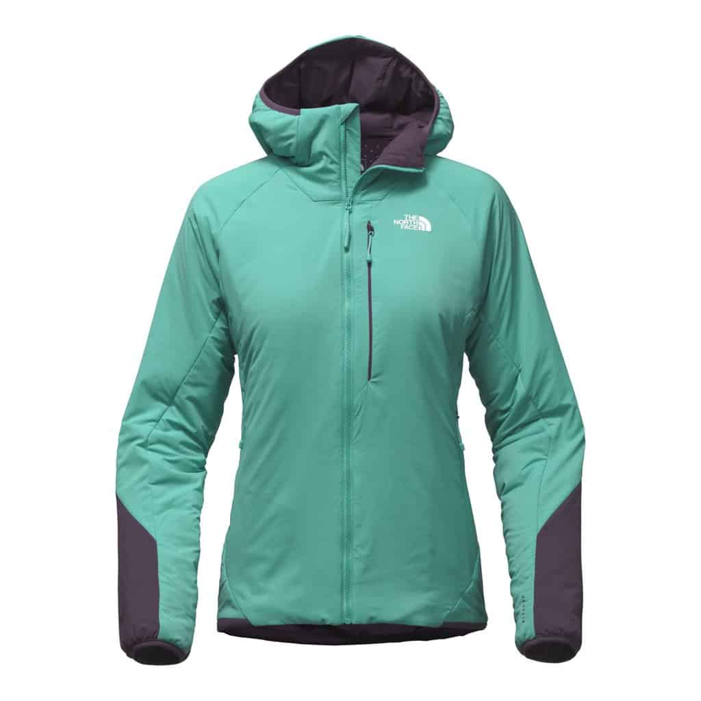the north face womens ventrix hoodie blue
