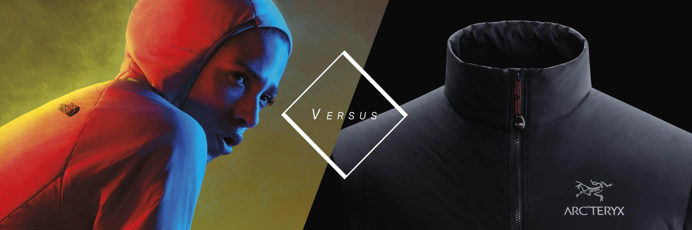 Arc'teryx, The North Face. Arc'teryx Atom LT VS The North Face Ventrix™