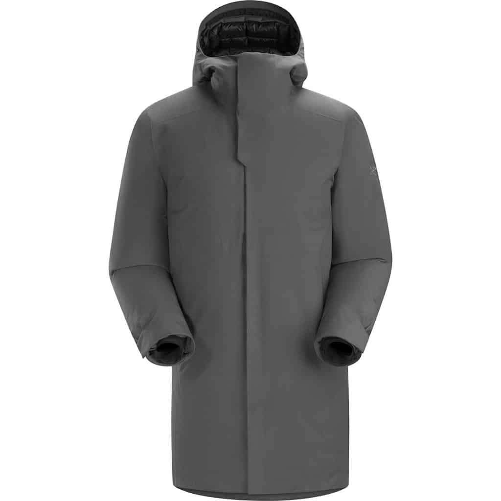 arcteryx mens thorsen parka grey