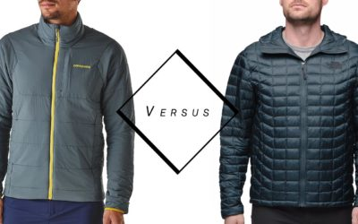 Patagonia, The North Face. Manteau Thermoball de The North Face VS Nano Air de Patagonia.