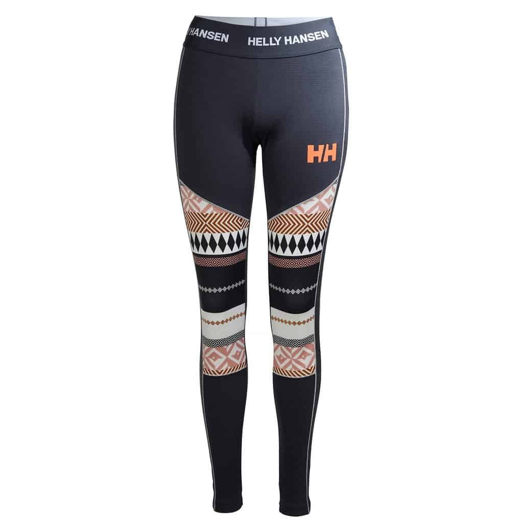 helly hansen womens lifa active graphic base layer pant