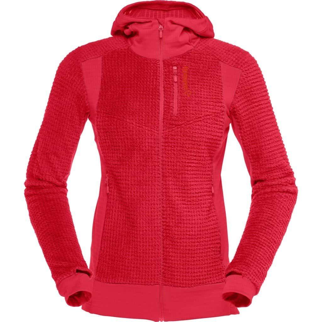 norrona womens lofoten alpha raw zip hoodie