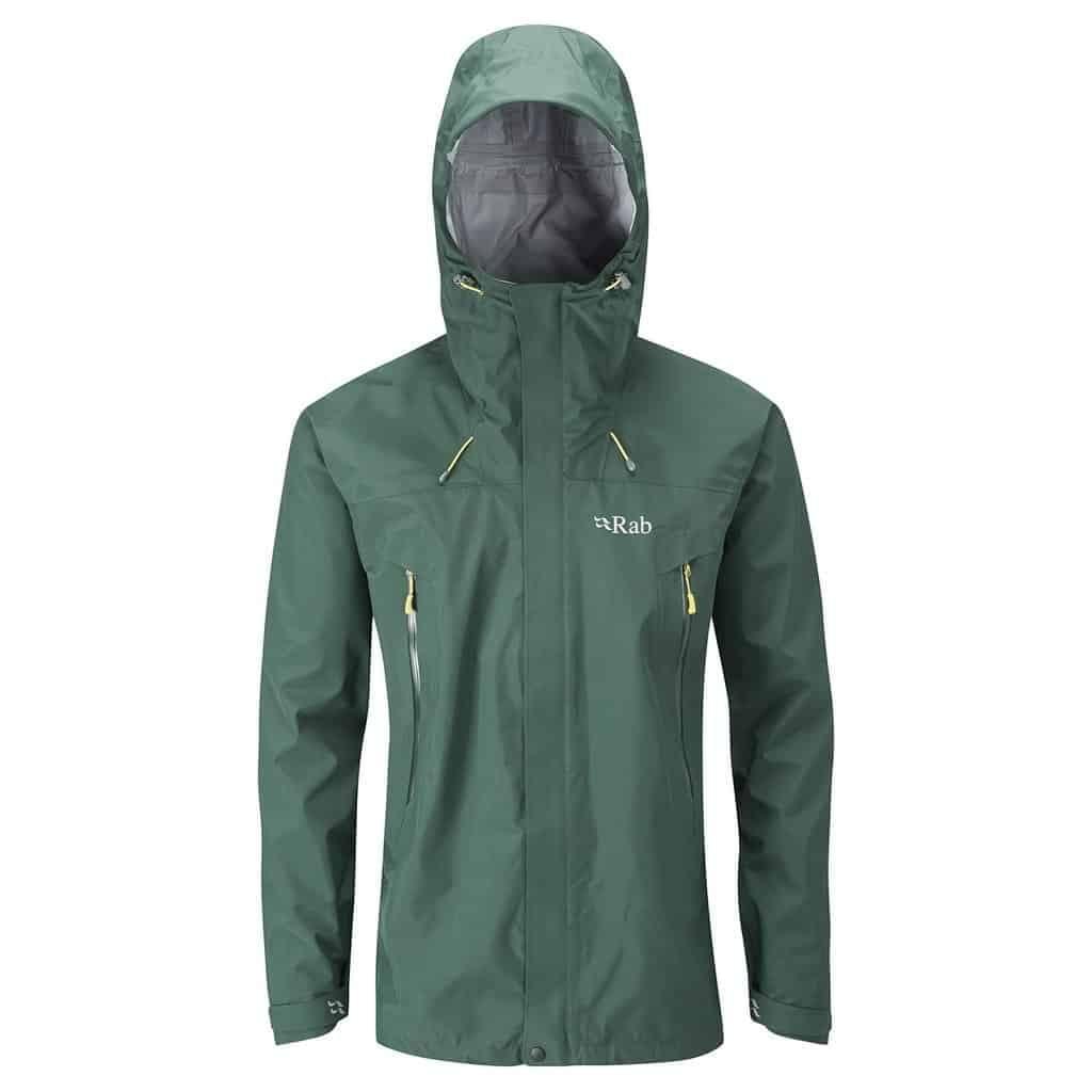 rab mens bergen waterproof jacket
