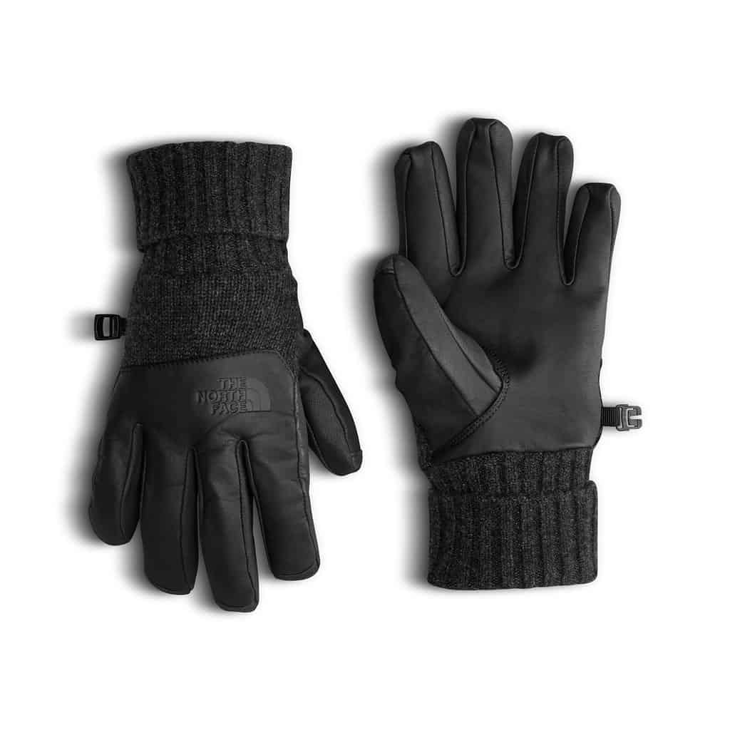 the north face cryos leather gloves