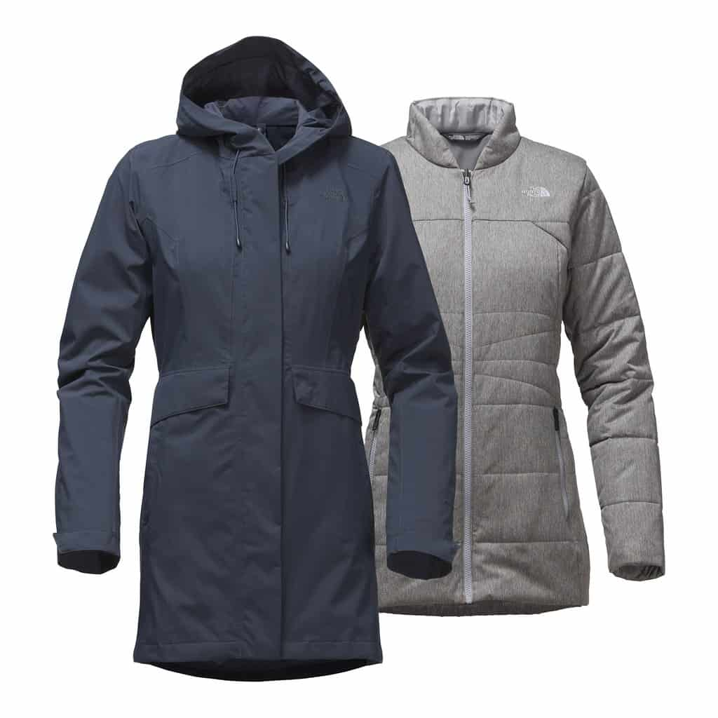 the north face womens cross boroughs triclimate jacket