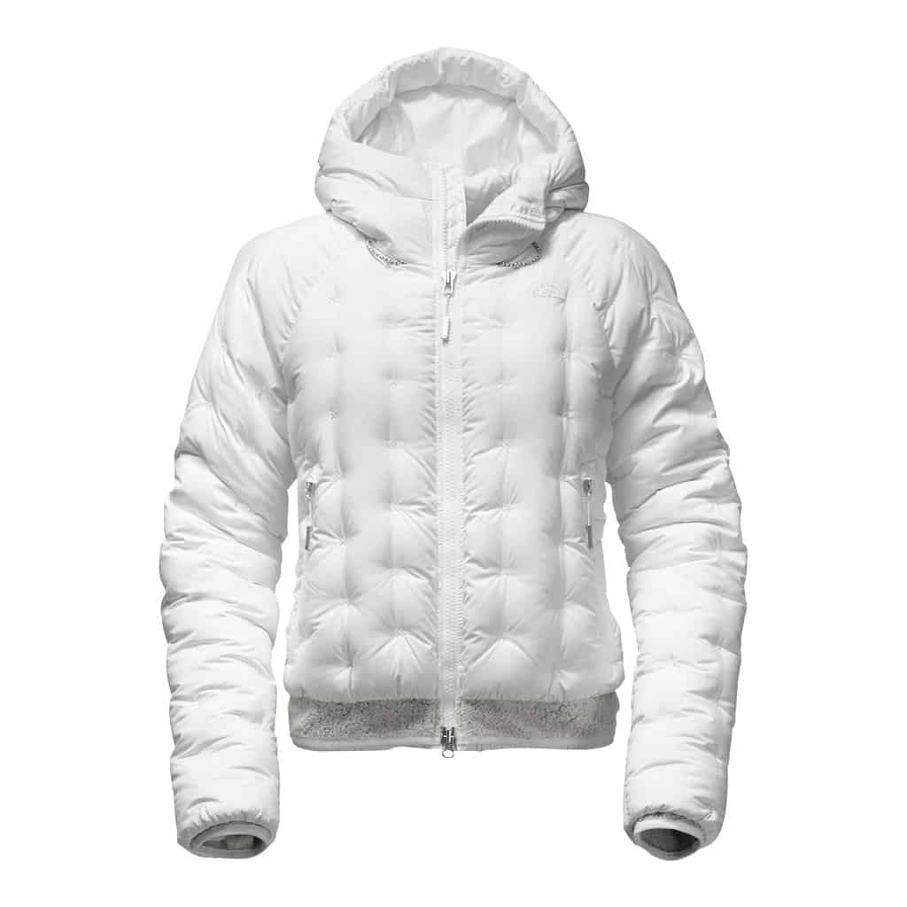 the north face womens cryos down bomber white