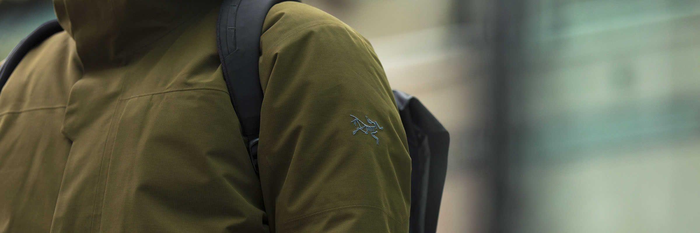 arcteryx mens urban winter coats