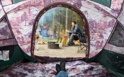 Camping, The North Face. The North Face Homestead Collection Reviewed.