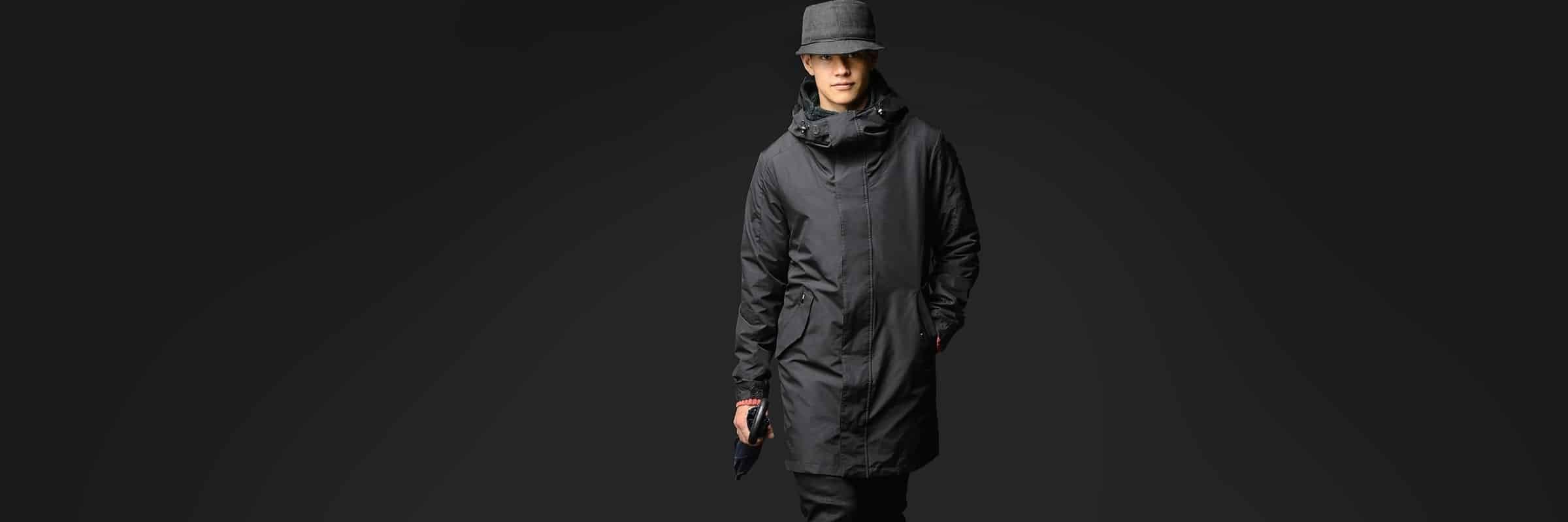 Top 5 Urban Raincoats for Men