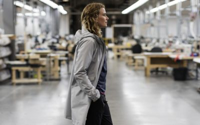 Arc'teryx, Barbour, RAINS, The North Face. Top 5 Urban Raincoats for Women.