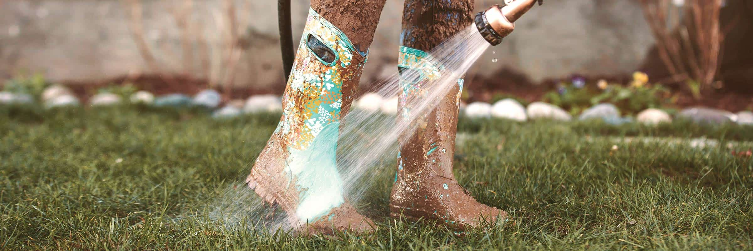 Choosing the right pair of rubber boots is now as important