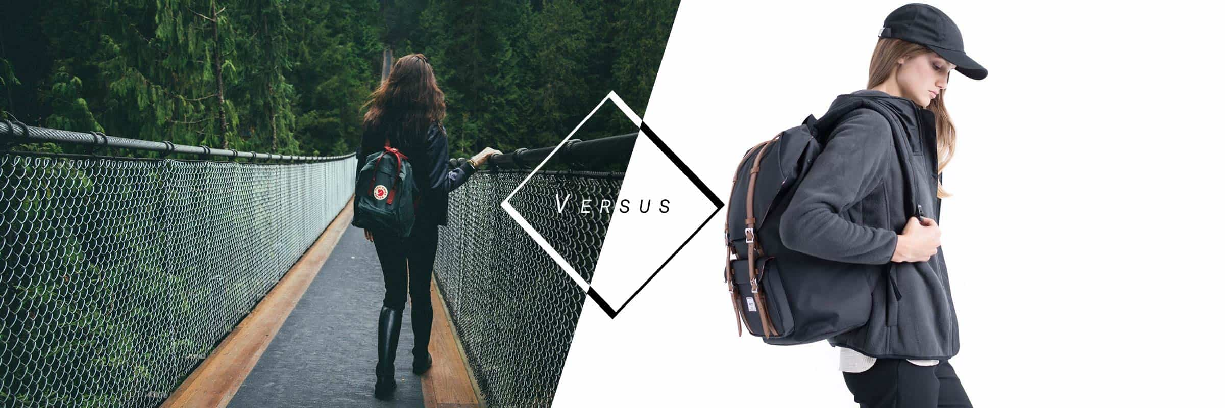 Herschel Supply Co. VS Fjällräven : quel sac à dos choisir?