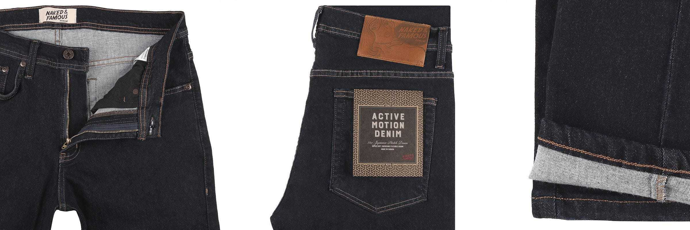 Naked & Famous. Naked & Famous Jeans: Carefully Resourced Quality