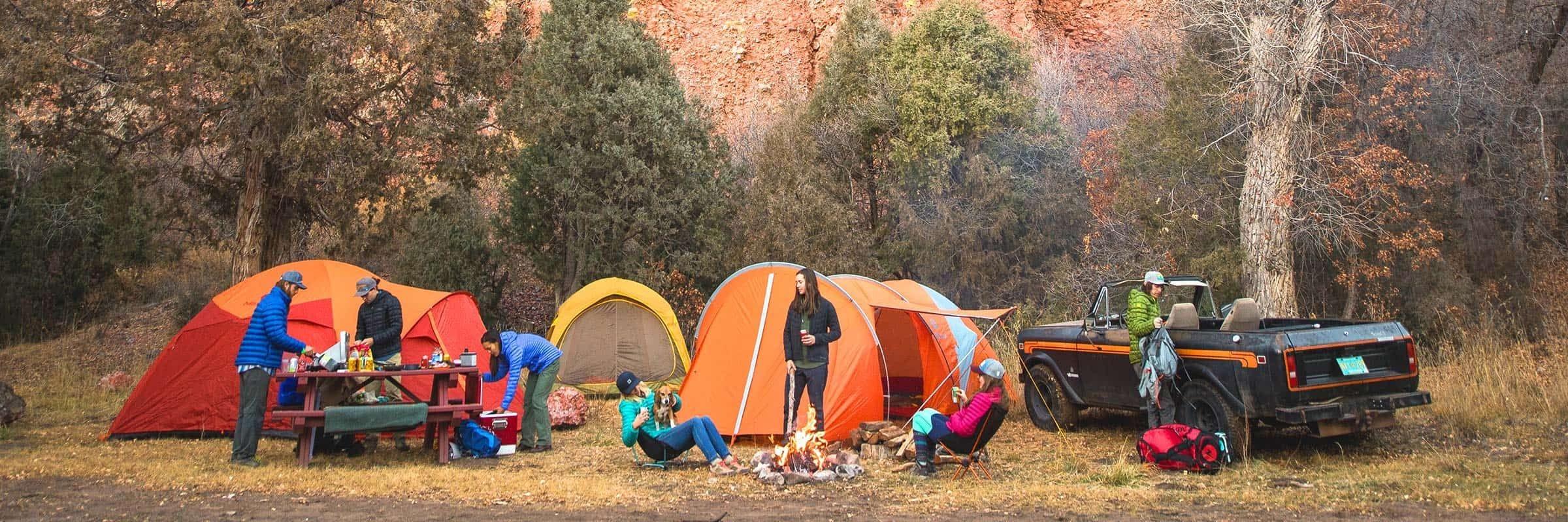 Big Agnes, Marmot, Mountain Hardwear, MSR. Les meilleures tentes 3 saisons pour des sorties de camping réussies