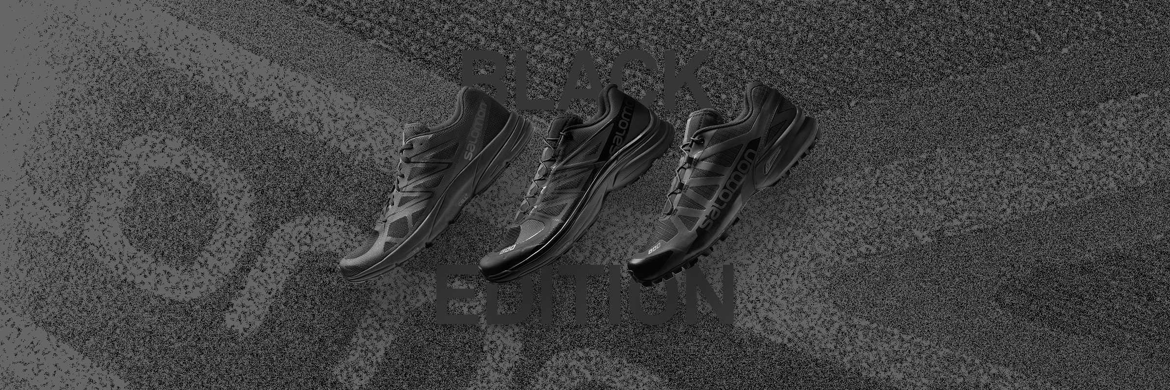 Discover the Limited Edition Salomon S/LAB Black Edition Collection