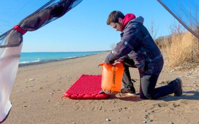 Camping, Sea to Summit. Sea to Summit Comfort Plus Regular Insulated Mat Review.