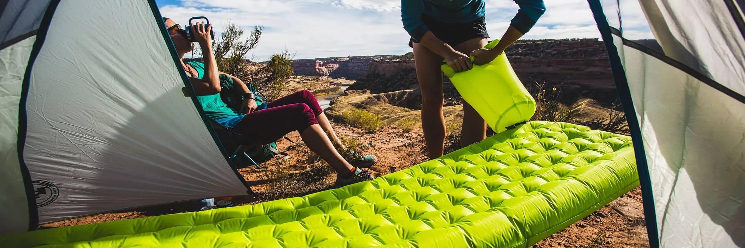 Les meilleurs matelas de sol pour une sortie de camping réussie