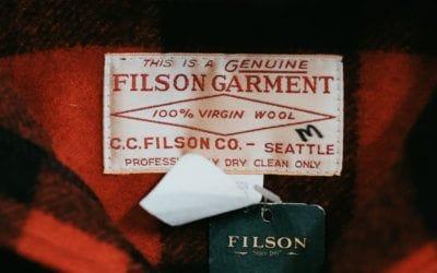 . Filson: 120 années de produits infaillibles.
