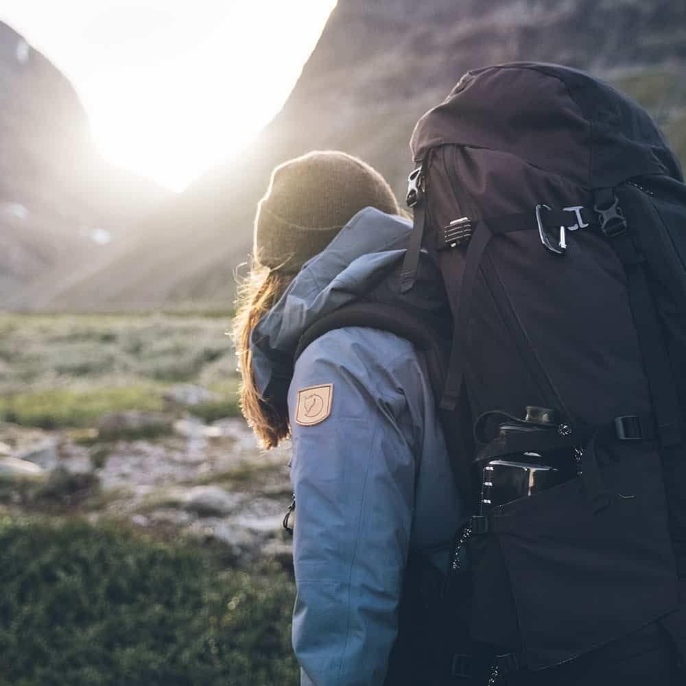 The Fjllrven Classic Conquering Kings Road Altitude Blog Fjallraven Abisko Hike 35 Green Her Womens Keb Eco Shell Jacket Trekking Tights Kajka 55 Backpack