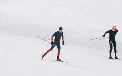 Rossignol. Rossignol: Ski Flair in bleu-blanc-rouge..