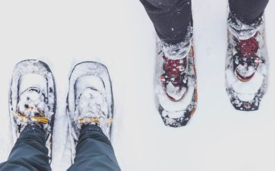 snowshoes. Which Boots Should You Wear Snowshoeing.