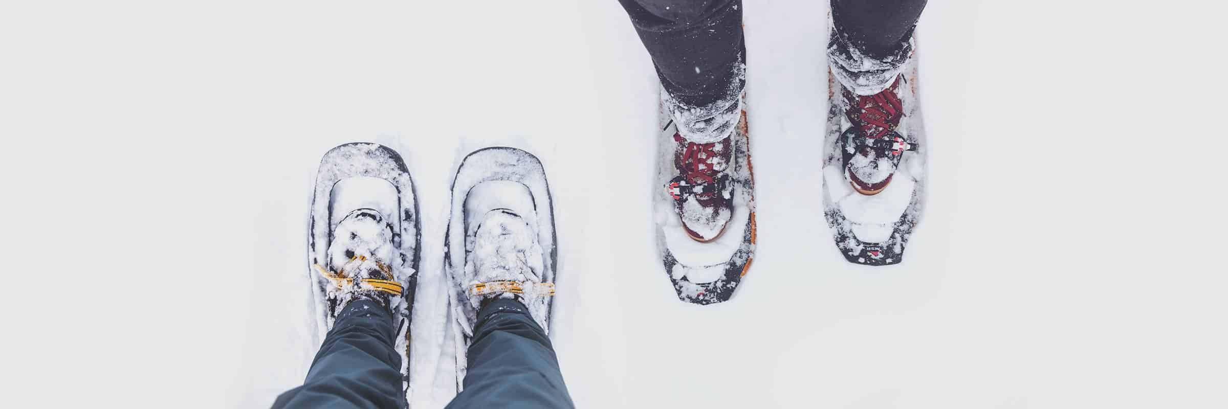 snowshoes. Which Boots Should You Wear Snowshoeing