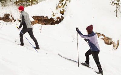 Hiver. Où faire du ski de fond au Québec en 2019.