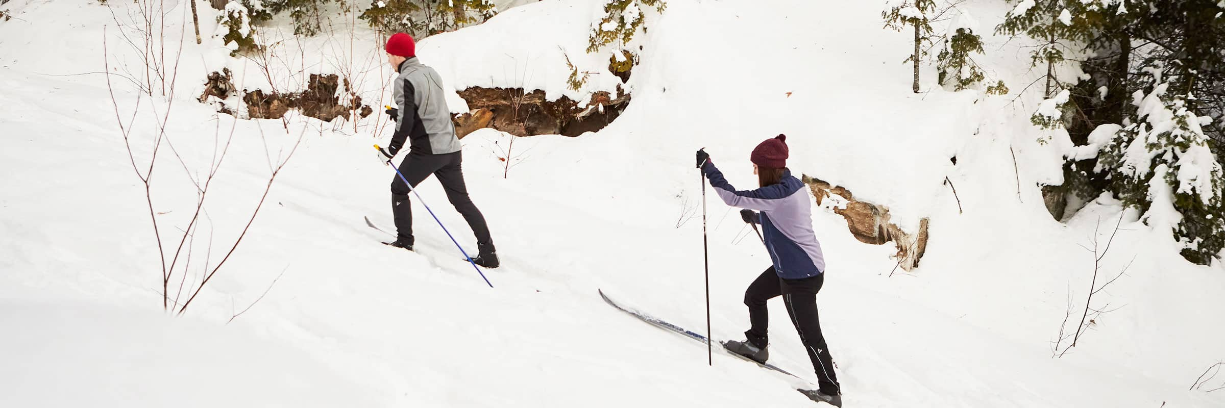 Hiver. Où faire du ski de fond au Québec en 2019