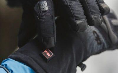 Outdoor Research. Les gants chauffants Ourdoor Research : confortables, peu importe la température.
