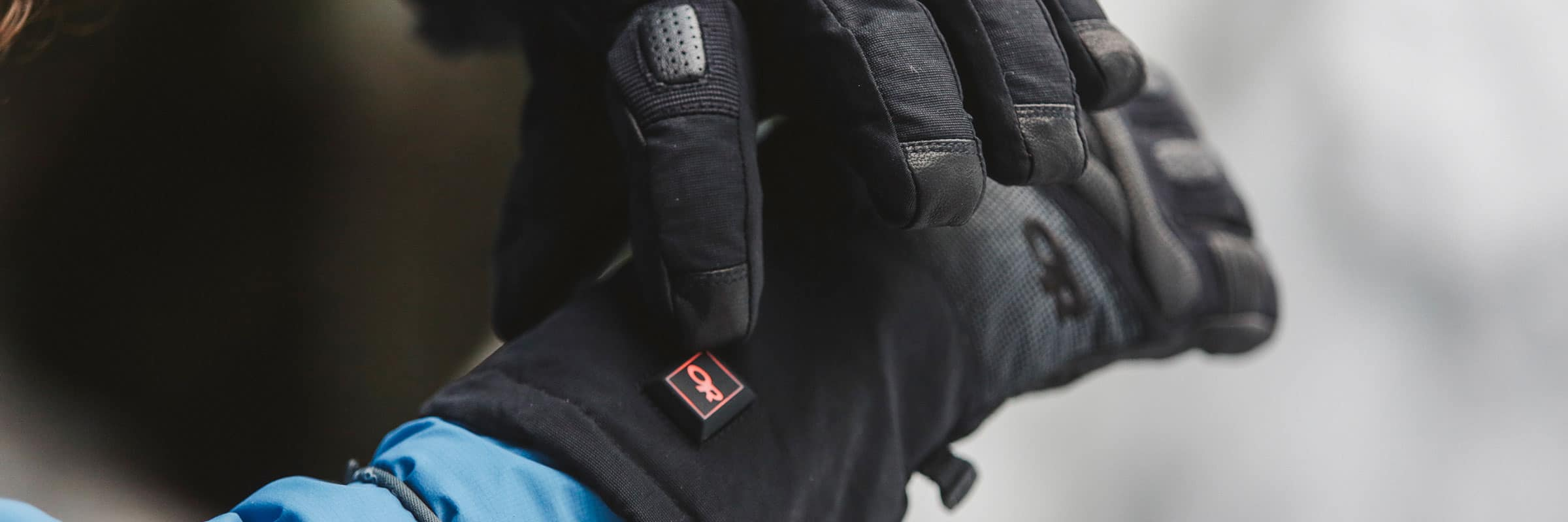 Outdoor Research Heated Gloves: Daylong Heated Comfort