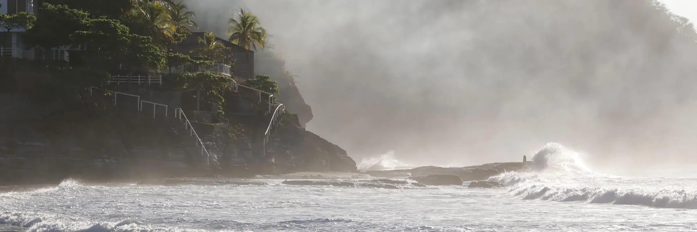 Affronter les vagues du Salvador avec Rip Curl et OuiSurf