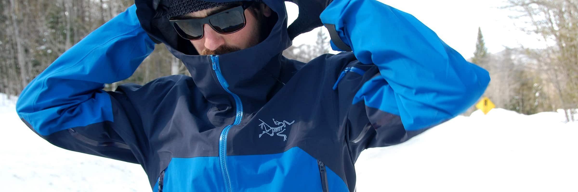 Arc'teryx, Ski & Snowboard. Arc'teryx Men's Rush Jacket Reviewed