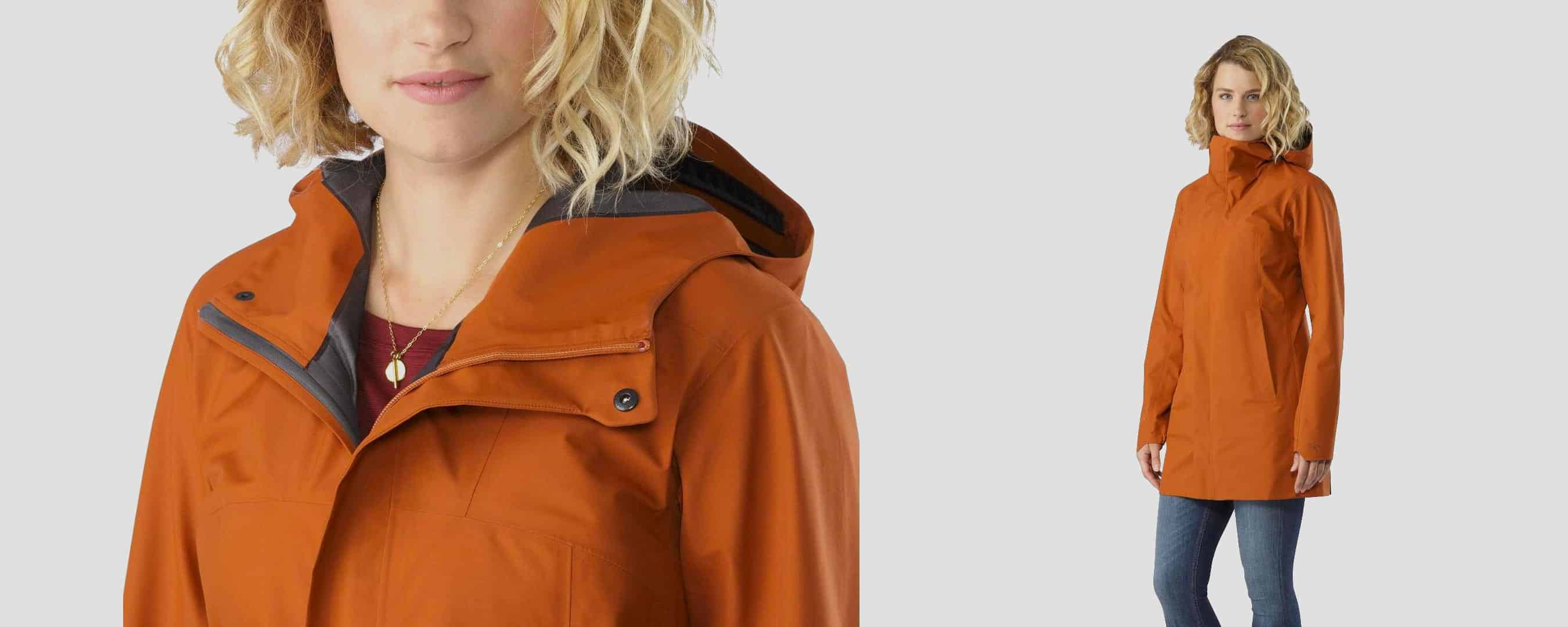 Arc'teryx, Barbour, RAINS, The North Face. 5 manteaux imperméables urbains pour femmes