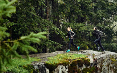 . DANCING WITH THE MOUNTAINS: Trail Running In The Rain With Arc'teryx Marketer Josh Barringer.