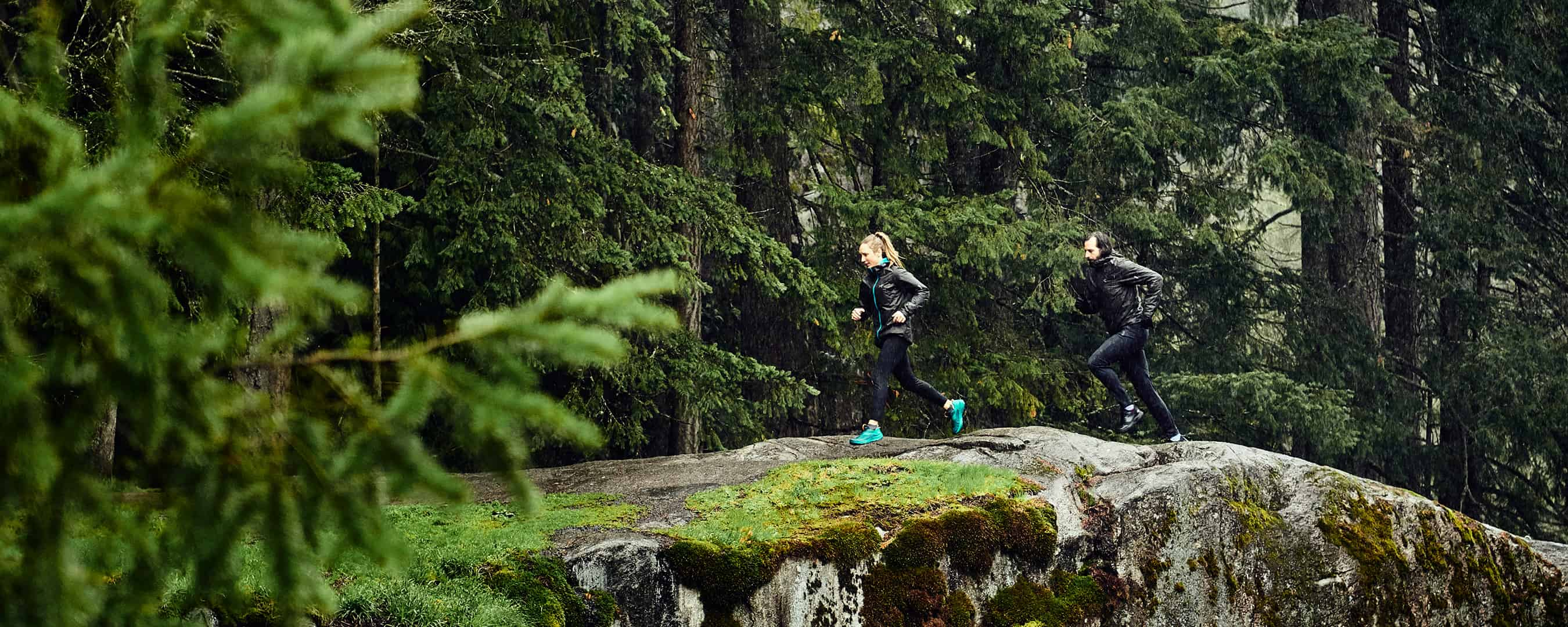 . DANCING WITH THE MOUNTAINS: Trail Running In The Rain With Arc'teryx Marketer Josh Barringer