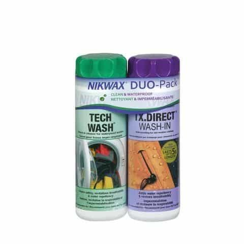 Lot de nettoyant et imperméabilisant Nikwax