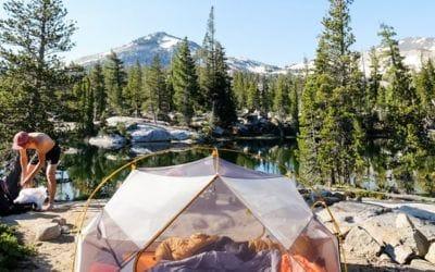 Camping, The North Face. Comment choisir une tente légère pour la randonnée.