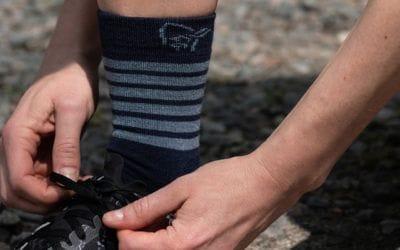 Norrona. Revue des chaussettes légères en mérinos Falketind par Norrøna.
