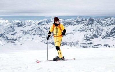 Futurelight, The North Face. Le futur est maintenant: La matière révolutionnaire de The North Face mise à l'essai à Zermatt.