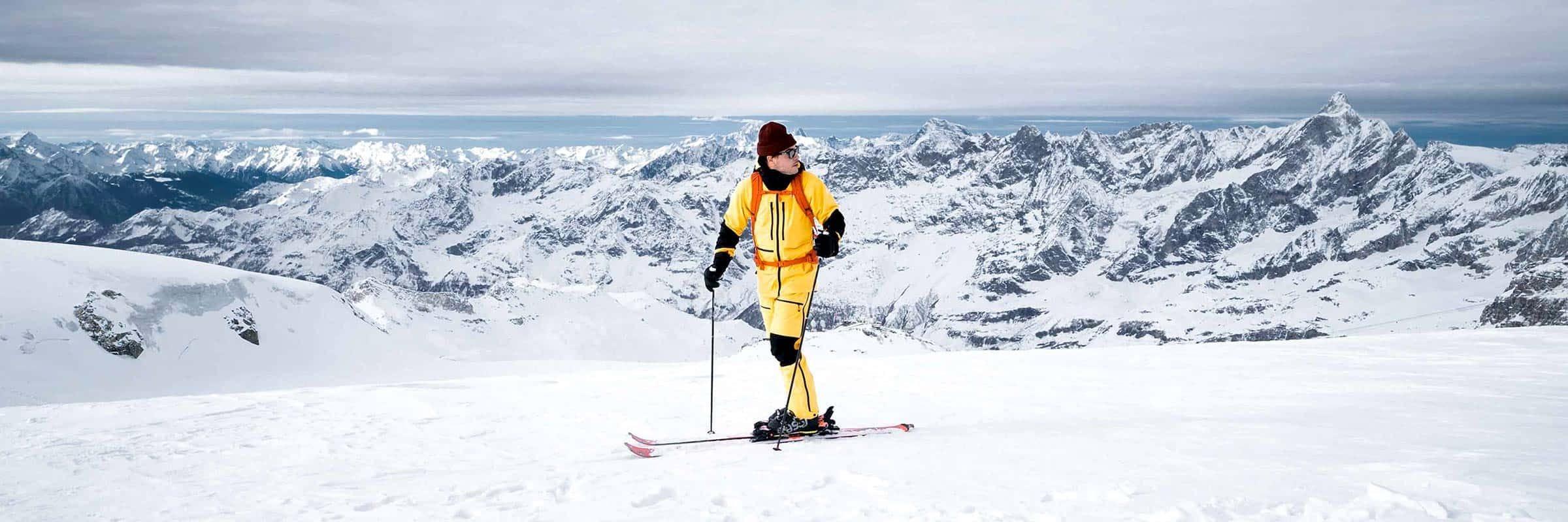 Futurelight, The North Face. Le futur est maintenant: La matière révolutionnaire de The North Face mise à l'essai à Zermatt