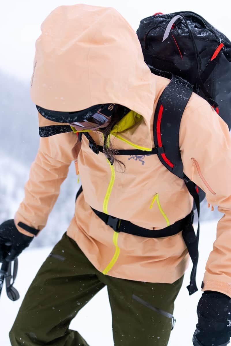 manteaux de ski arc'teryx