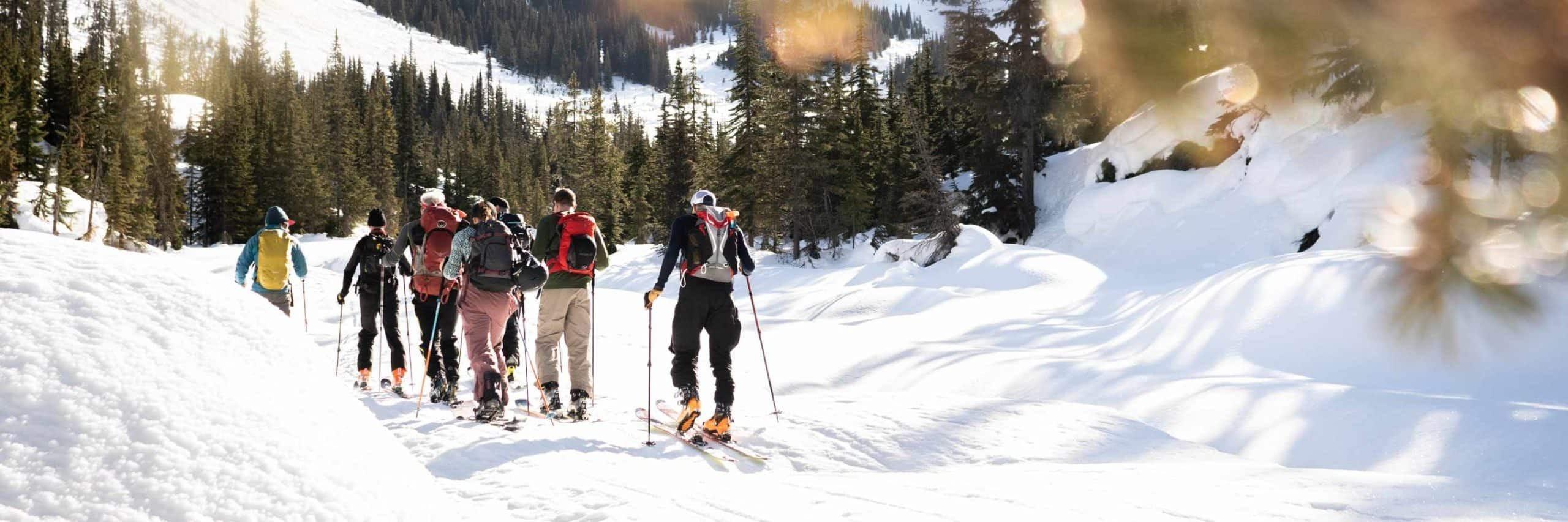 Altitude Sports au Col-Rogers avec Smartwool: une aventure façonnée par les changements climatiques