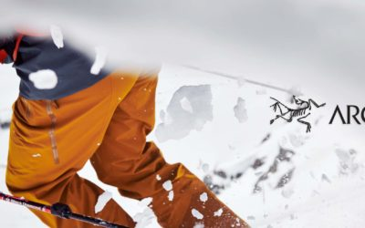 Arc'teryx, skiing. The Right Approach: Whistler Backcountry Skiing in Arc'teryx Whiteline Collection.